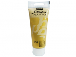 Acrylic paint (100 ml) - iridescent gold
