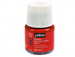 Déco-Farbe für alle Untergründe - leuchtendes Rot