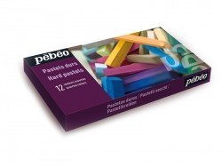 Coffret 12 pastels secs - couleurs assorties Pébéo - 2