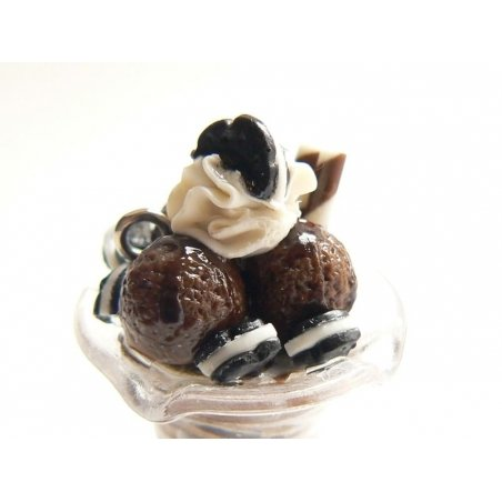 Coupe glacée Choco biscuit