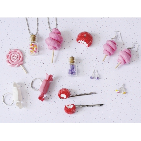 Kit Diy Mes Bijoux Gourmands Bonbons Loisirs Creatifs Et Modelage