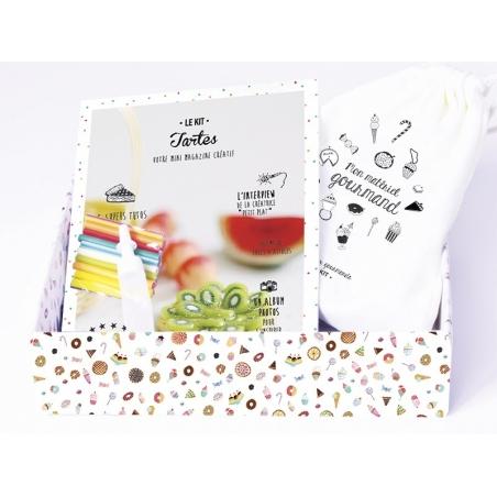 kit DIY mes bijoux gourmands - tartes La petite épicerie - 3