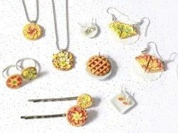 kit DIY mes bijoux gourmands - tartes La petite épicerie - 4