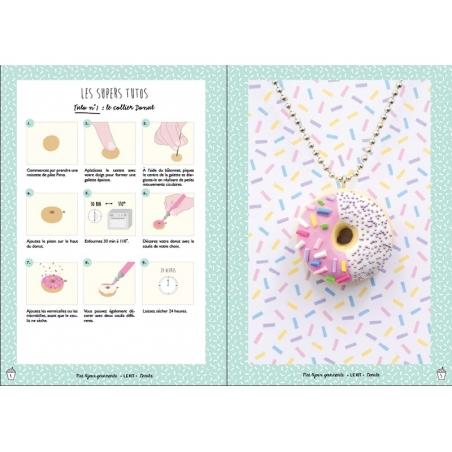 DIY kit - Mes bijoux gourmands - Doughnuts