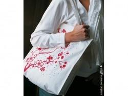 Shopping bag/Tote bag - 38 cm x 42 cm - long handles