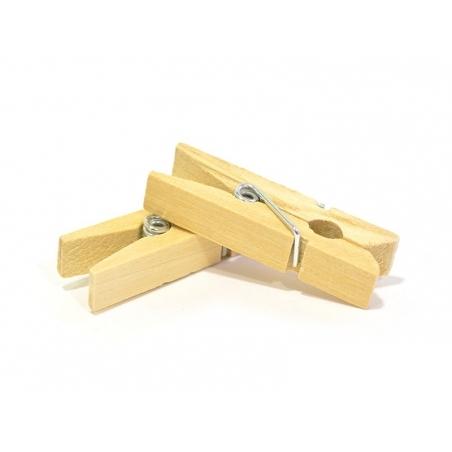 Acheter 50 mini pinces à linge en bois - naturel - 3,90€ en ligne sur La Petite Epicerie - 100% Loisirs créatifs