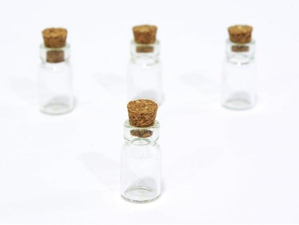 Acheter 1 fiole en verre 2,3 cm - 0,99€ en ligne sur La Petite Epicerie - Loisirs créatifs