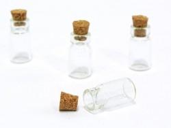 1 fiole en verre 2,3 cm
