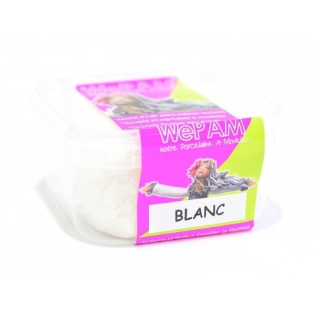Acheter Pâte WePAM - Blanc - 3,99€ en ligne sur La Petite Epicerie - 100% Loisirs créatifs