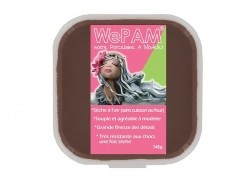 WePam clay - chocolate brown Wepam - 1