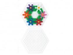Pegboard for classic HAMA MIDI beads - hexagon Hama - 3