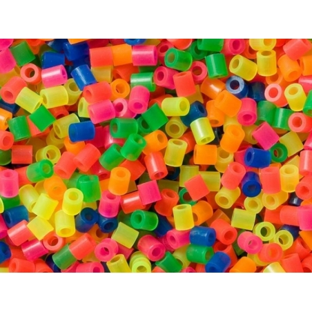 Acheter Sachet de 1000 perles HAMA MIDI classiques - fluo translucides 51 - 3,15€ en ligne sur La Petite Epicerie - 100% Loi...