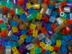 Sachet de 1000 perles HAMA MIDI classiques - couleurs translucides