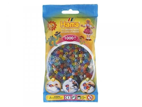 Acheter Sachet de 1000 perles HAMA MIDI classiques - couleurs translucides 53 - 3,15€ en ligne sur La Petite Epicerie - 100%...
