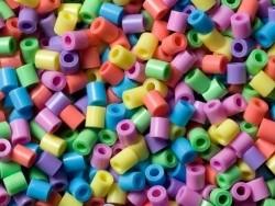 Sachet de 1000 perles HAMA MIDI classiques - couleurs pastel