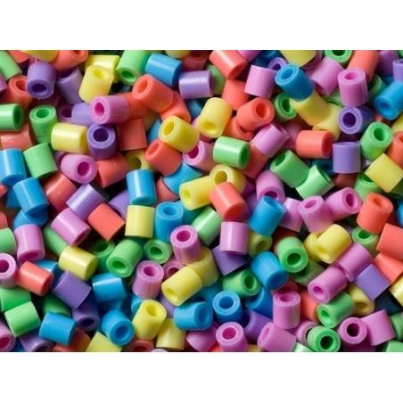 Sachet de 1000 perles HAMA MIDI classiques - couleurs pastelles 50 Hama - 2
