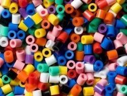 Sachet de 1000 perles HAMA MIDI classiques - multicolore
