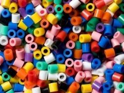 Tüte mit 1.000 klassichen HAMA-Midi-Perlen - mehrere Farben