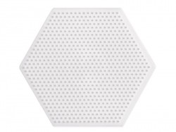 plaque support pour perles HAMA MINI - hexagone Hama - 1