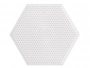 plaque support pour perles HAMA MINI - hexagone