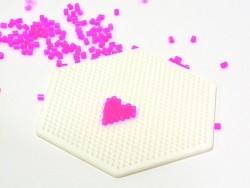 Stiftplatte für HAMA-Mini-Perlen - Sechseck