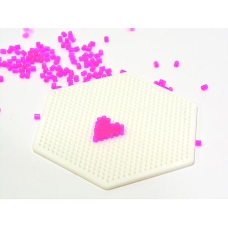 Acheter plaque support pour perles HAMA MINI - hexagone - 2,99€ en ligne sur La Petite Epicerie - Loisirs créatifs