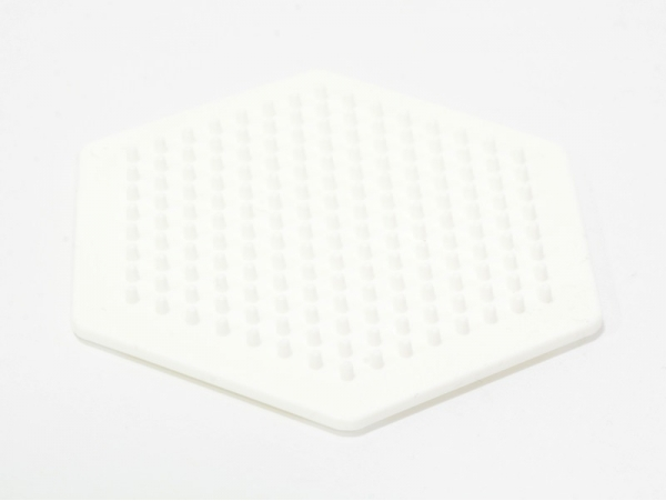 Plaque support pour perles HAMA MIDI classiques - hexagone Hama - 1