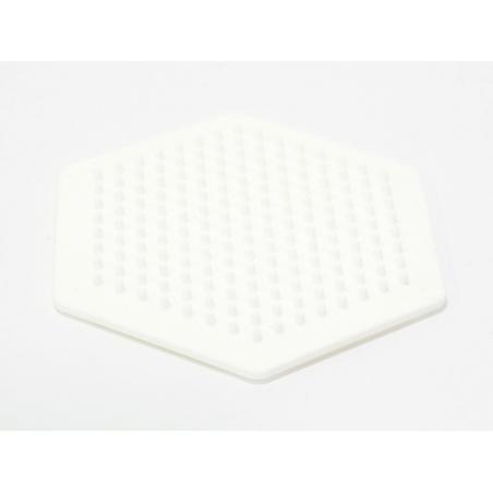 Plaque support pour perles HAMA MIDI classiques - hexagone
