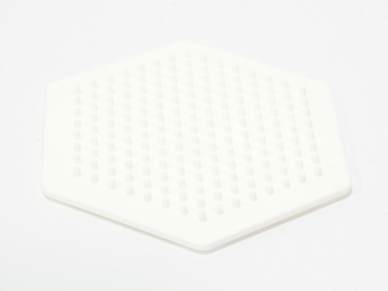 Acheter Plaque support pour perles HAMA MIDI classiques - hexagone - 1,89€ en ligne sur La Petite Epicerie - Loisirs créatifs