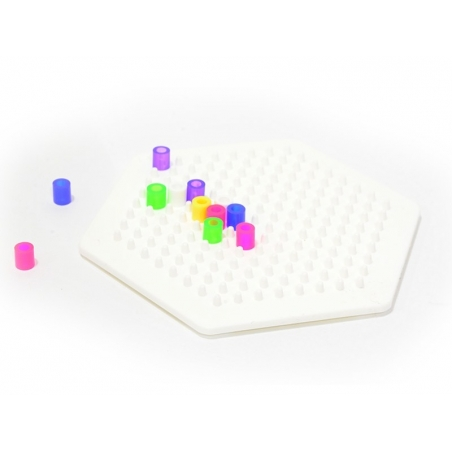 Pegboard for classic HAMA MIDI beads - hexagon Hama - 2