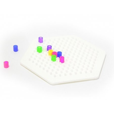 Plaque support pour perles HAMA MIDI classiques - hexagone Hama - 2