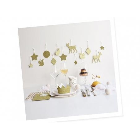 10 pochettes cadeaux - losanges dorés My little day - 2