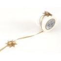 Masking tape motif ruban cadeau doré - 35 mm