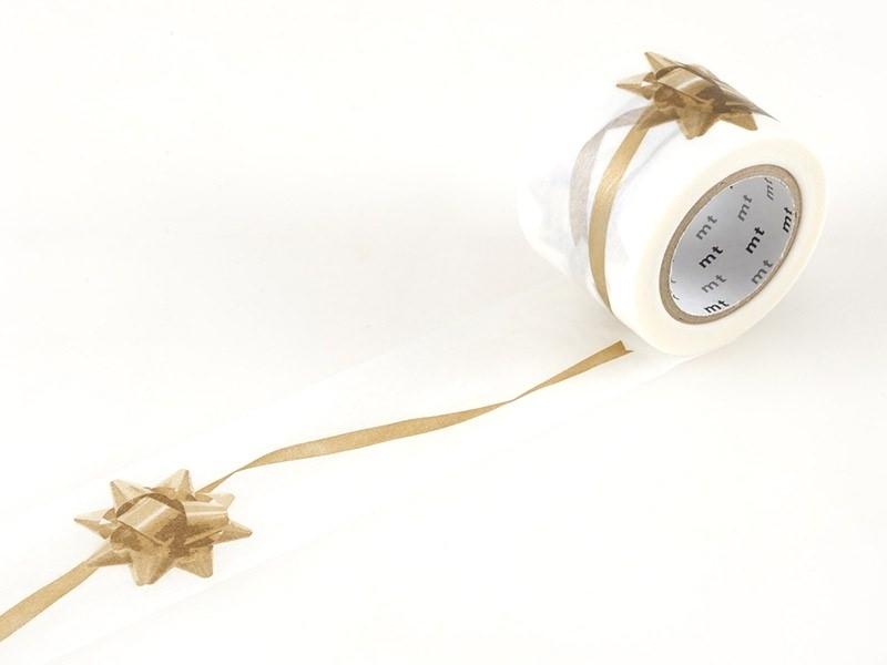 Acheter Masking tape motif ruban cadeau doré - 35 mm - 7,70€ en ligne sur La Petite Epicerie - 100% Loisirs créatifs