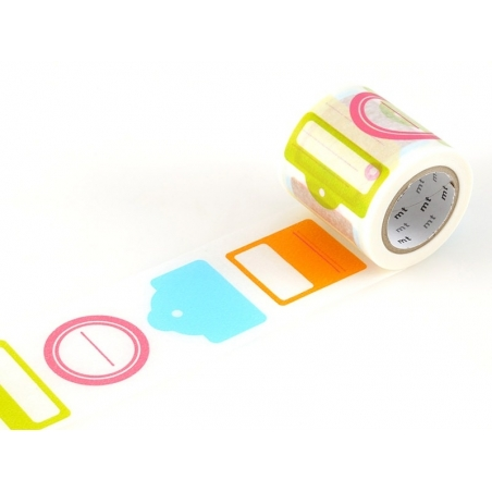 Masking Tapewith a tag pattern - 50mm