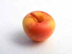 Pomme miniature en pâte polymère