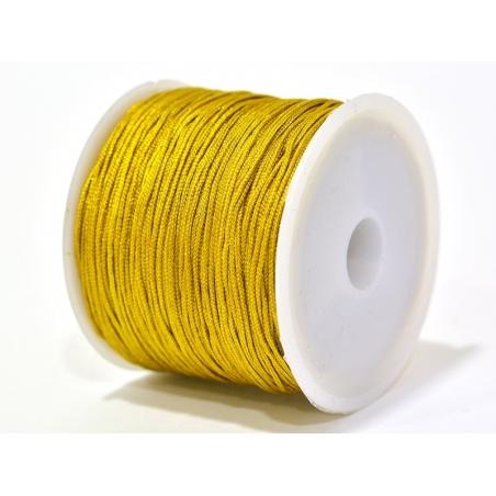 Acheter 1 m de fil de jade / fil nylon tressé 1 mm - ocre moutarde brillant - 0,49€ en ligne sur La Petite Epicerie - Loisir...