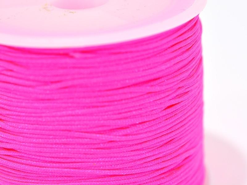 Acheter 1 m de fil de jade / fil nylon tressé 1 mm - rose fluo - 0,49€ en ligne sur La Petite Epicerie - Loisirs créatifs