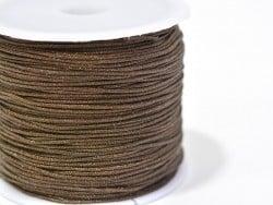 Acheter 1 m de fil de jade / fil nylon tressé 1 mm - marron chocolat - 0,49€ en ligne sur La Petite Epicerie - 100% Loisirs ...