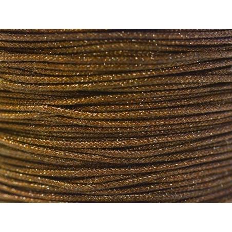 Acheter 1 m de fil de jade / fil nylon tressé 1 mm - marron chocolat - 0,49€ en ligne sur La Petite Epicerie - Loisirs créatifs