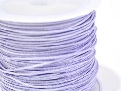 1 m de fil de jade / fil nylon tressé 1 mm - lilas  - 1