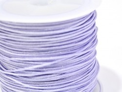 1 m of braided nylon cord, 1 mm - lilac