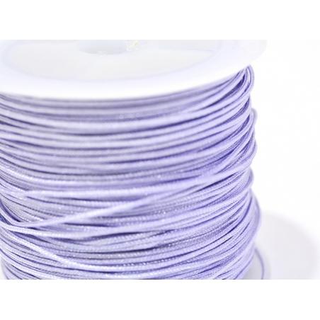 1 m de fil de jade / fil nylon tressé 1 mm - lilas