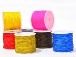 Acheter 1 m de fil de jade / fil nylon tressé 1 mm - lilas - 0,49€ en ligne sur La Petite Epicerie - Loisirs créatifs
