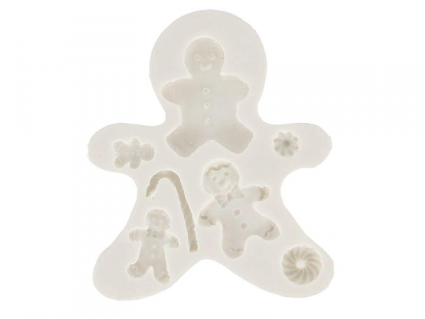 Gingerbread family WePAM silicone mould