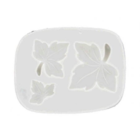 WePAM silicone mould with maple leaves