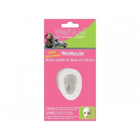 Tender face WePAM silicone mould