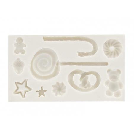 Acheter Moule gourmandises d'hiver WePAM - 9,80€ en ligne sur La Petite Epicerie - 100% Loisirs créatifs