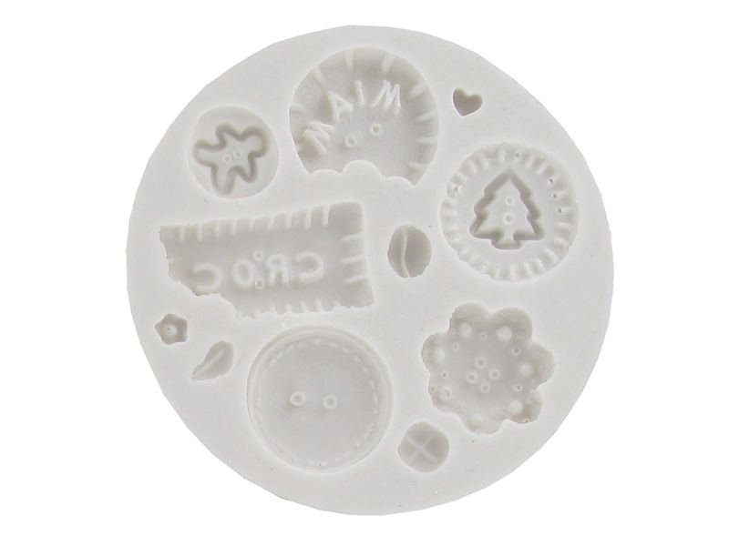 Beautiful, deliciously-looking buttons WePAM silicone mould