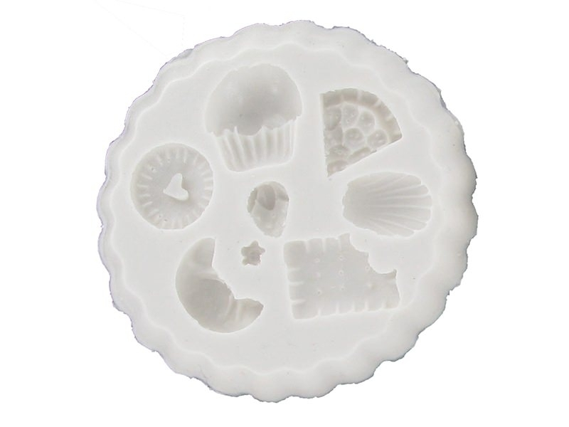 Several cakes WePAM silicone mould